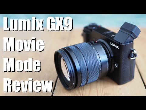 Panasonic Lumix GX9 4k movie mode review