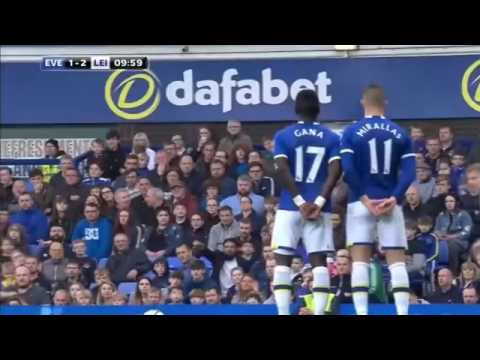 Everton vs Leicester City 4 2   All Goals and Highlights   Premier League 2017 HD   YouTube