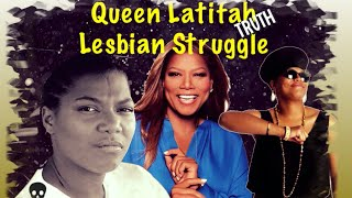 QUEEN LATIFAH LESBIAN STRUGGLE, LATE BROTHER SACRIFICE, LIES EXPOSED!!