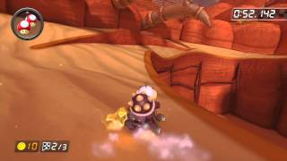 Bone-Dry Dunes - 1:48.991 - Ray (Mario Kart 8 World Record)