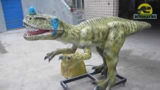 preview picture of video 'Dinopark Ornitholestes Dinosaur from Professional Dinosaur Factory DWD207'