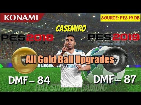 All Gold Ball Player Upgrade Into Black Ball Pes 2019 - смотреть