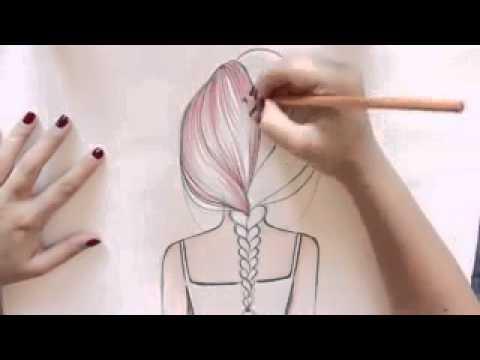 Рисуем косу