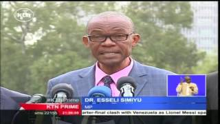 Kenyan opposition coalition CORD suspends it's occupy IEBC demonstrations