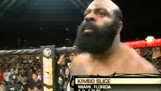Kimbo Slice vs Tank Abbot