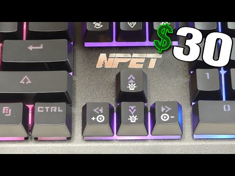 NPET Gaming P010 RGB Keyboard Review/Unboxing!