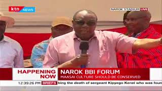 Angwenyi proposes combination of major marginalized tribes in leadership spots at Narok BBI Forum