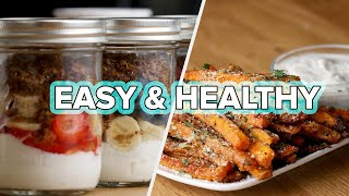 9 Easy And Healthy Snacks For Your Weekend
