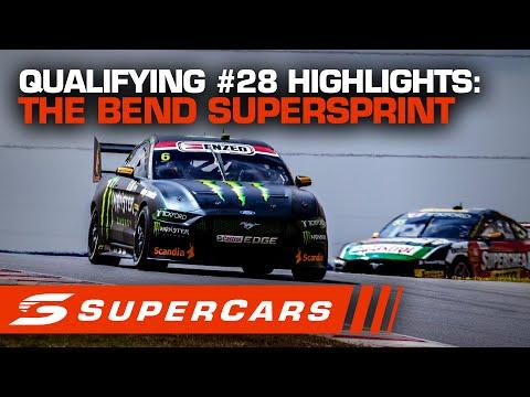 2020年 SUPERCARS OTRザベンド500 スーパースプリント#28予選レースハイライト動画