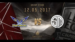 [12.05.2017] FW vs TSM [MSI 2017][Group Stage]