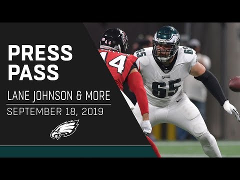 """Lane Johnson """"This is a Must-Win"""" 