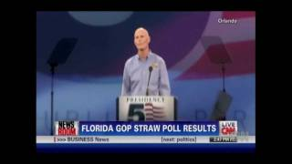Florida Straw Poll Winner Cain Shows Voters Unhappy thumbnail