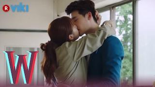 W - EP 7 | Lee Jong Suk & Han Hyo Joo's Jailhouse Kiss | Korean Drama