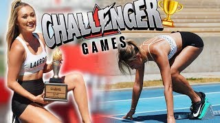 THE CHALLENGER GAMES RECAP (YouTubers Getting Injured lol)
