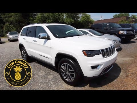 The 2017 Jeep Grand Cherokee Limited | For Sale Review - Mount Pleasant, SC Used Vehicles