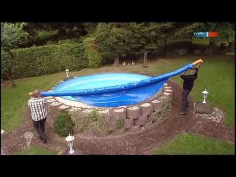 Die aufblasbare Pool-Abdeckung - MDR Einfach genial - 13.09.2011