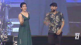 jani master & rashmika dance on stage bheeshma pre release event