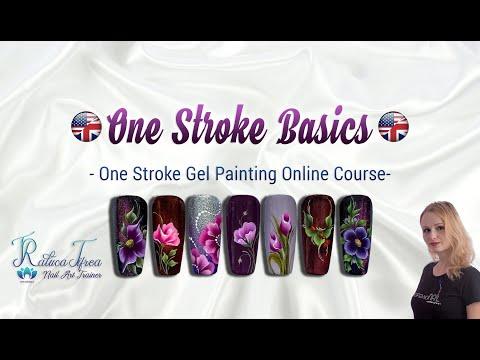 One Stroke Basics English Online Course - YouTube