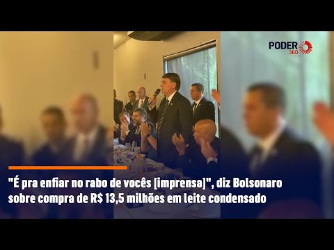 Bolsonaro manda imprensa a