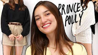 Cozy & Casual SPRING CLOTHING HAUL + OUTFITS!! ft. Princess Polly :)