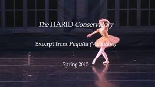The HARID Conservatory, Excerpt from Paquita (Variation), Spring 2015