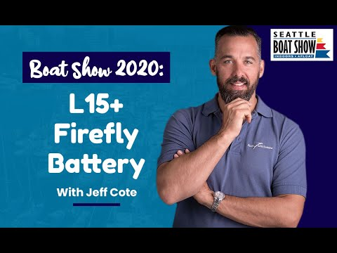 Boat Show 2020: L15+ Firefly Battery