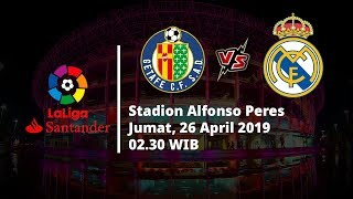 Video Live Streaming dan Jadwal Laga Getafe Vs Real Madrid, Via MAXStream beIN Sport