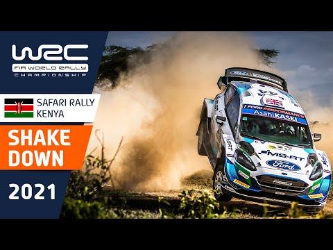 WRC 2021 WRC第6戦ラリー・ケニア シェイクダウンのハイライト動画