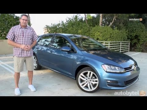 2015 Volkswagen Golf 1.8T TSI SEL Test Drive and Video Review