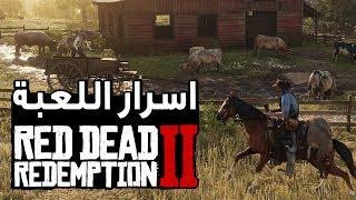 اسرار وخفايا لعبة  Red Dead Redemption 2