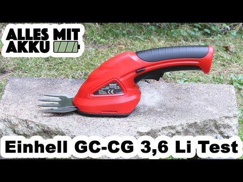 Einhell GC CG 3,6 Li Gartenschere Test | ALLES MIT AKKU