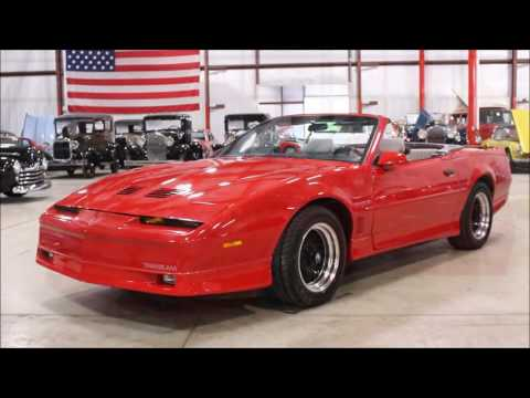Video of '88 Firebird - M4IK