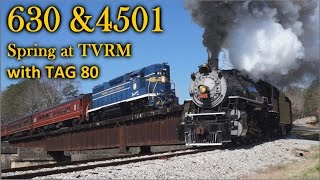 A duo video: K&L Trainz Nickel Plate Road 765 and Southern 4501