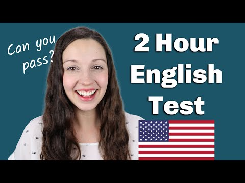 Download 2 Hour English Test: How will you do? Mp4 HD Video and MP3