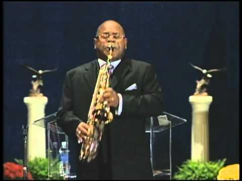 Dr. Alvin McKinney, Saxophonist, featured at Morris Cerullo World Evangelism (Chicago, IL-September 2013):