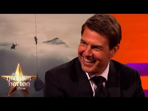 Tom Cruise o kaskadérských scénách - The Graham Norton Show