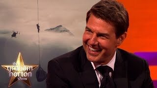 Tom Cruise Reveals the BIGGEST Mission Impossible Stunt Yet | The Graham Norton Show | Kholo.pk