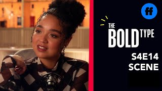 The Bold Type | Season 4 episode 14 | Extrait 4 : Kat Interviews Eva (VO)