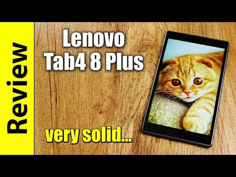 Lenovo Tab4 8 Plus | very solid but less impressive