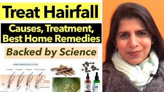 Treat Hair Fall  | Causes With Best Home Remedies | Learn How To Reduce Hair Fall | In Hindi