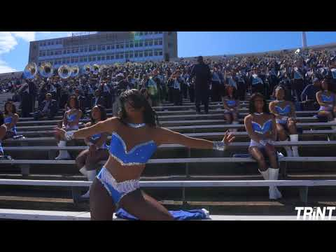 Hot | Jackson State University Marching Band & Prancing J-Settes | Bama St. (2019)