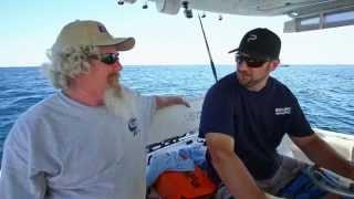 Fish Mavericks closing scene to the Bahamas