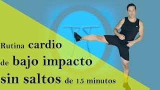 Cardio de bajo impacto para adelgazar cardio suave para principiantes