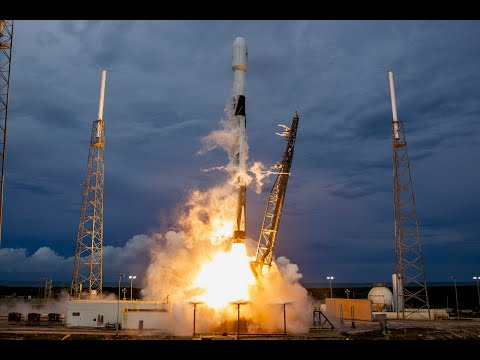 Watch SpaceX launch a huge satellite using a twice-flown Falcon 9 live