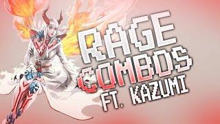 Tekken 7: Kazumi Rage Drive/Art Combos