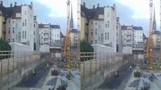 preview picture of video '22.11.2012 Die Rathausgalerie-Baustelle in Hagen (City)'