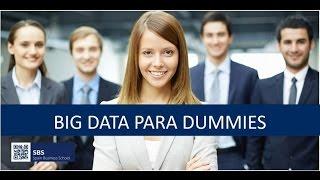 "Webinar ""Big Data para Dummies"""