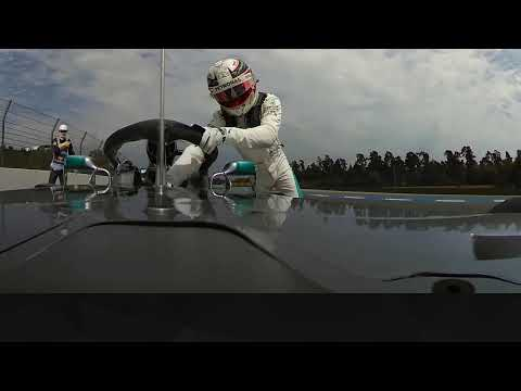 Lewis Hamilton Hits Trouble In Qualifying (360 video) | 2018 German Grand Prix