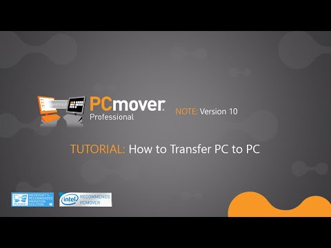 Laplink® PCmover® Professional Tutorial - How to Transfer PC to PC