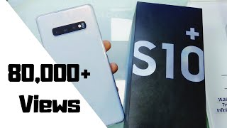 Samsung Galaxy S10+  malayalam unboxing and review